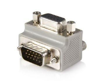 HD15 M/F Adapter Right Angle Type